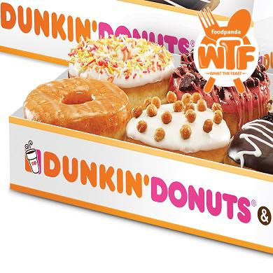 Dunkinindia welcome offer