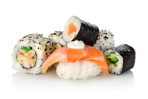 Sushi delivery in Singapore